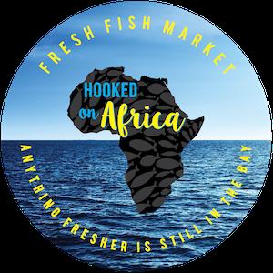Hooked On Africa Fresh Fish Market Hout Bay Logo
